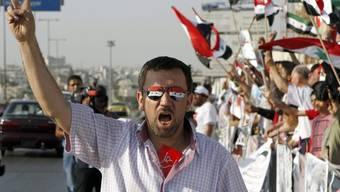 Anti-Regierungs-Proteste am Donnerstag in Syrien