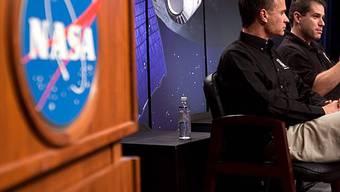 NASA meldet Wasservorkommen auf dem Mond (Archiv)