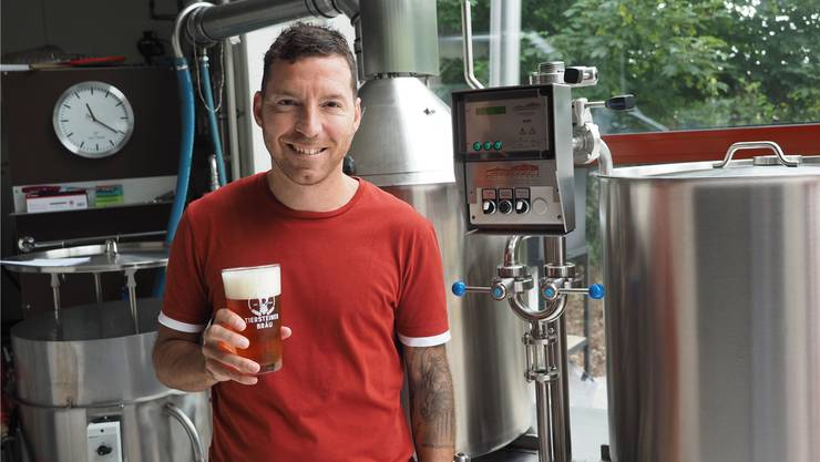 «Man muss dem Bier die nötige Zeit lassen»: Mirko Dapoto hat die Tiersteiner Bräu Anfang 2017 übernommen.