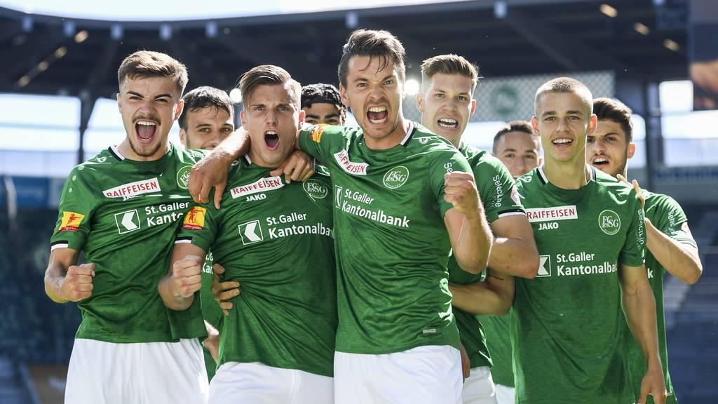 «Haben schwieriges Spiel erwartet»: Der FCSG gewinnt 2:1 gegen Sion
