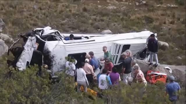 Zahlreiche Tote bei Bus-Unfällen in Peru