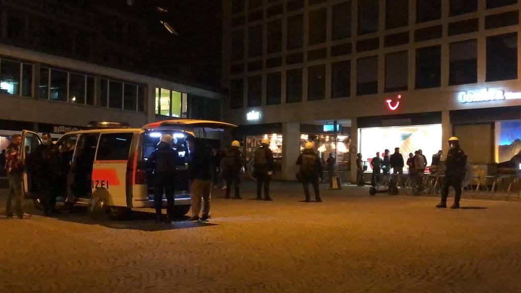 60 in St.Gallen Festgenommene wieder auf freiem Fuss