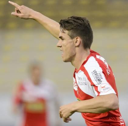 Benjamin Kololli im Trikot des FC Sion.