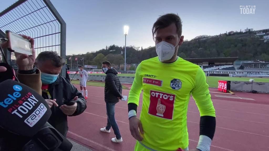 Hexer Marius Müller bringt den FC Luzern ins Cup-Halbfinale