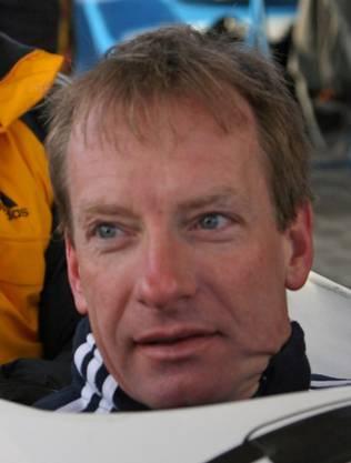 Christoph Langen, zweifacher Olympiasieger im Bob.