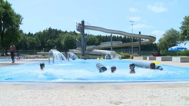 Besucherrekord in Zürcher Badis