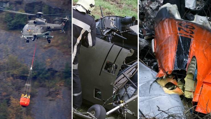 In den vergangenen 20 Jahren kam es immer wieder zu Unfällen in der Luftwaffe
