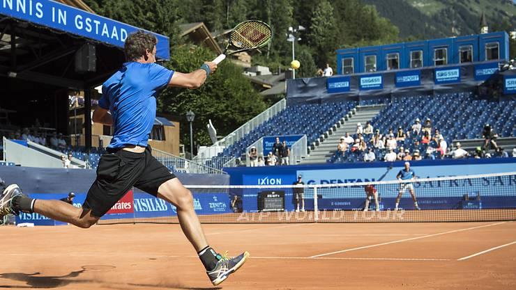 Vor einem Jahr erreichte Henri Laaksonen in Gstaad die Achtelfinals und unterlag dort dem Franzosen Paul-Henri Mathieu