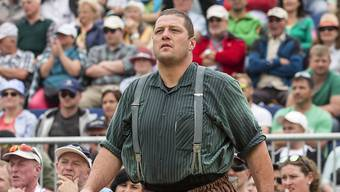 Martin Grab bei seinem letzten Auftritt - am Schwyzer Kantonalfest in Sattel
