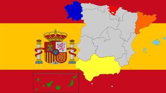 Spanische Separatisten-Bewegungen