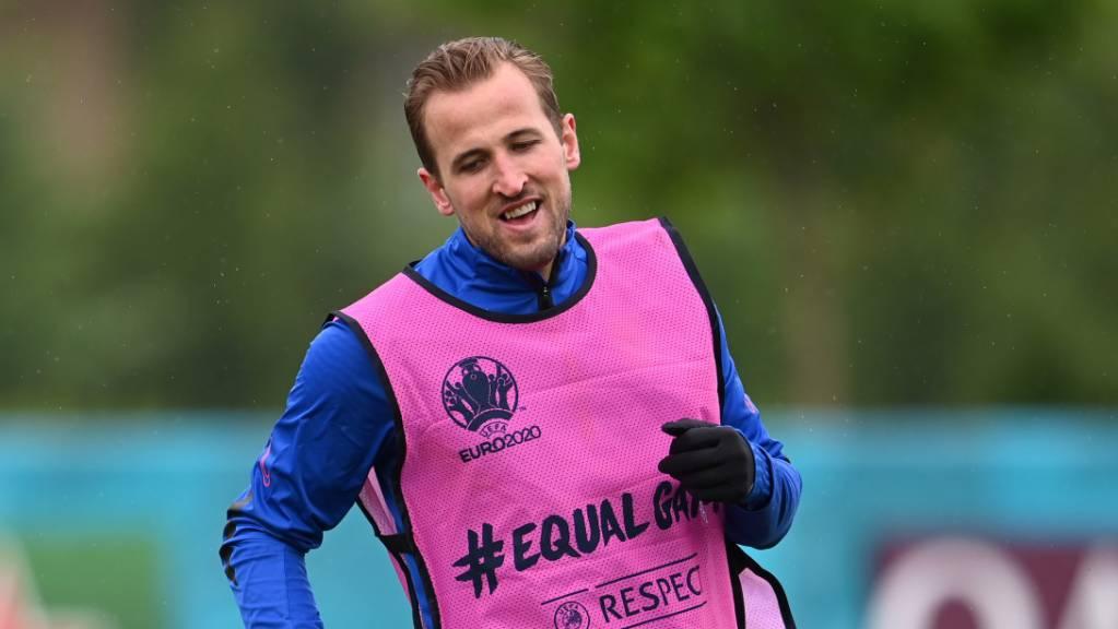 Englands Captain Harry Kane kam bislang noch überhaupt nicht auf Touren