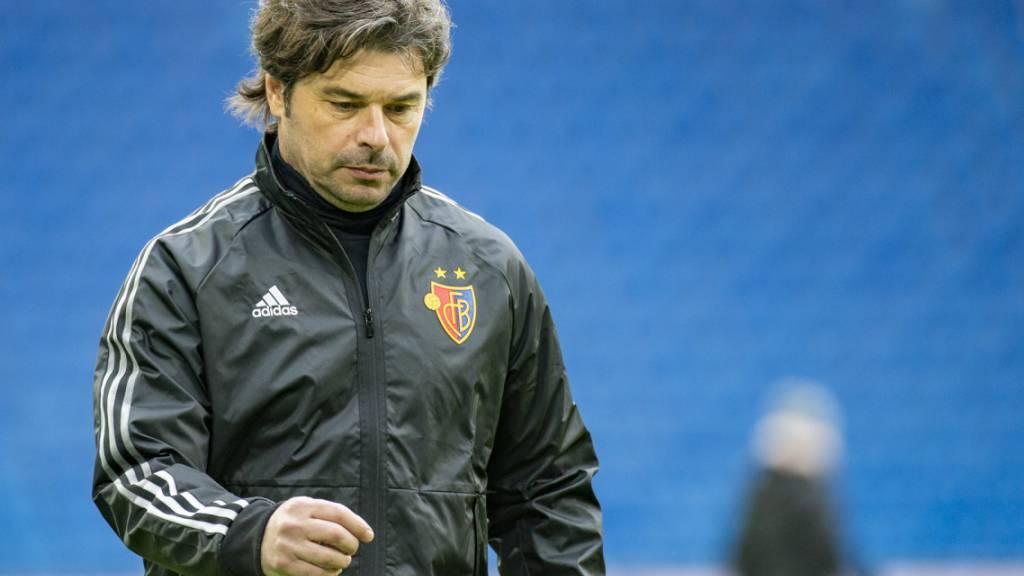 Trainer Ciriaco Sforza hat nichts zu lachen