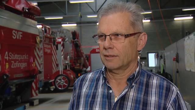 Zofinger Feuerwehrkommandant Peter Ruch: «Bevor das Unwetter kam, wusste ich, ich muss los»