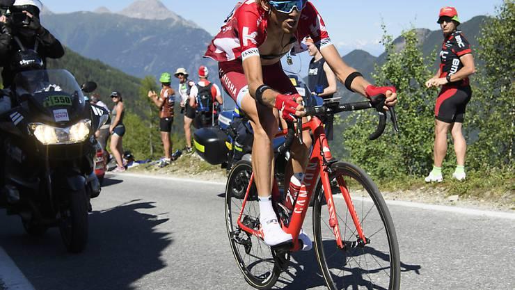 Der Russe Ilnur Sakarin siegte in Finhaut-Emosson mit fast einer Minute Vorsprung vor dem Kolumbianer Jarlinson Pantano