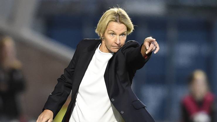 Sie hat den Frauenfussball in der Schweiz auf ein neues Niveau gehievt: Voss-Tecklenburg.