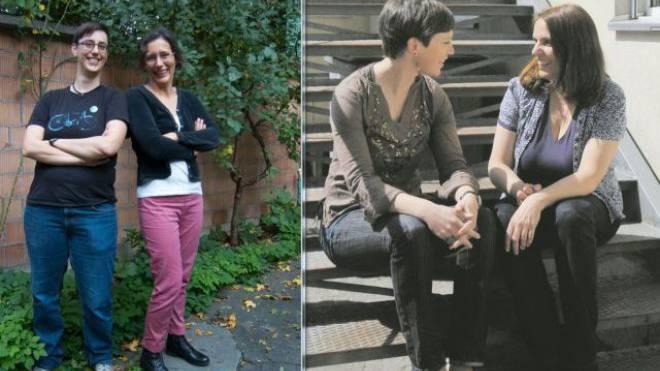Die aufmüpfigen Tonja Zürcher und Heidi Mück (Basta) kritisieren die regierungstreuen Mirjam Ballmer und Elisabeth Ackermann (Grüne). Foto: zvg/Heinz Dürrenberger