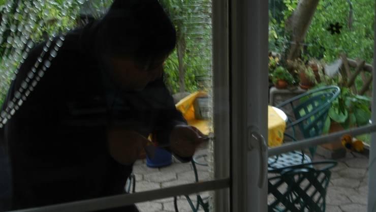 Hauptsache geschnappt: Die Luzerner Polizei erwischte den Fensterbohrer in flagranti.