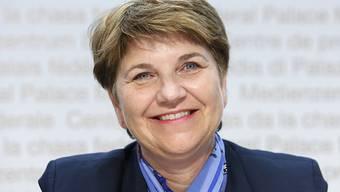 CVP-Bundesratskandidatin Viola Amherd kann die gegen sie erhobenen Vorwürfe nicht nachvollziehen und weist diese in einem Interview zurück. (Archivbild)