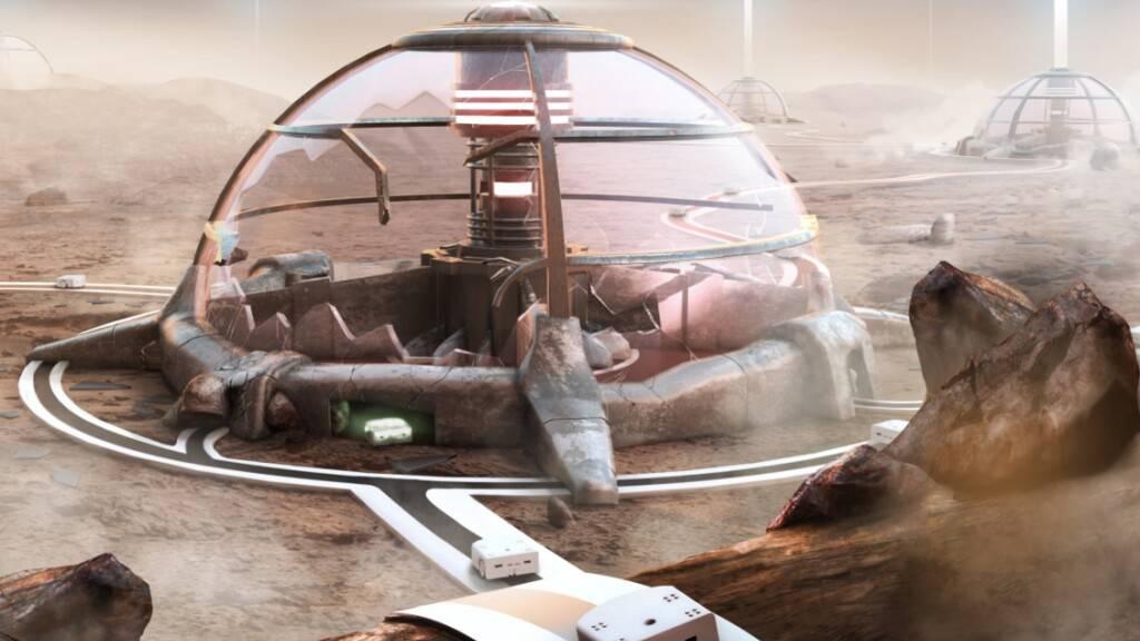Mit solchen Thymio-Robotern haben 700 Schüler weltweit in den letzten Wochen auf einer «Mission to Mars» virtuell ein beschädigtes Kraftwerk repariert. Das Projekt unter der Leitung der Lausanner EPFL fördert Schlüsselkompetenzen des 21. Jahrhunderts, etwa das Computational Thinking (Bild EPFL)