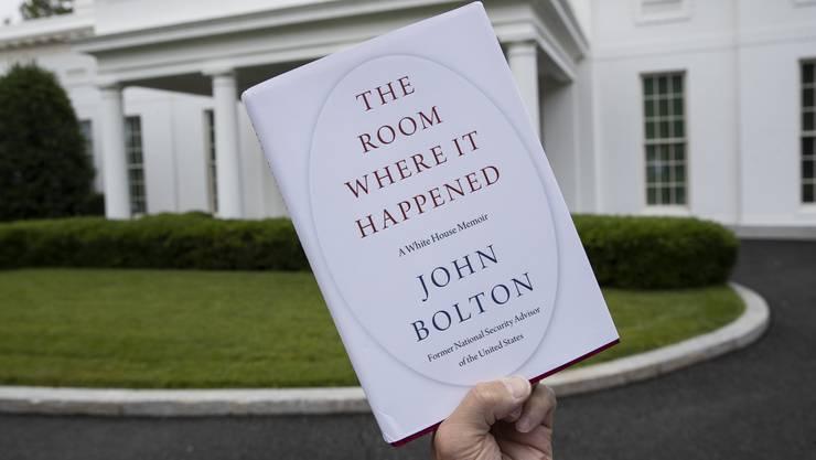 Bringt Donald Trump in Rage: Das Buch seines Ex-Sicherheitsberaters John Bolton, das am Dienstag erscheinen soll.