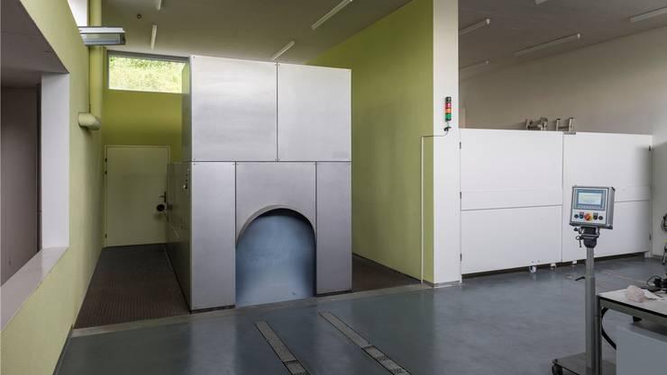 Das Krematorium Liebenfels in Baden: Die Recycling-Einnahmen haben sich im vergangenen Jahr verzehnfacht.Alex Spichale