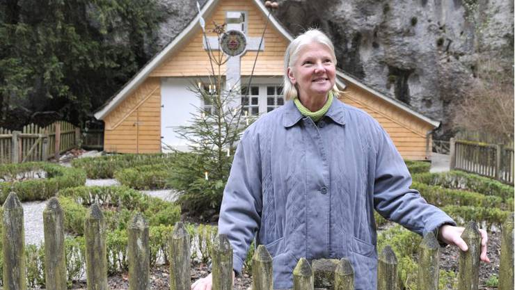 Verena Dubacher sorgt für Recht und Ordnung in der Einsiedelei.