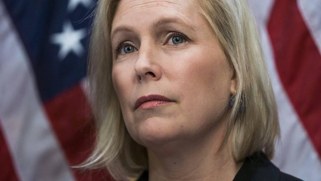 Die Demokratin Kirsten Gillibrand wirft ihren Hut für die nächsten US-Präsidentschaftswahlen in den Ring. (Archivbild)