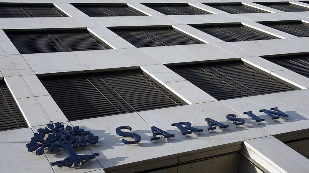 Die Bank Sarasin ist von einem deutschen Gericht zu 45 Millionen Euro Schadenersatz für den Drogerie-Unternehmer Erwin Müller verurteilt worden. (Archiv)