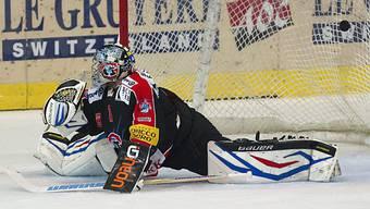 Fribourg-Goalie Benjamin Conz