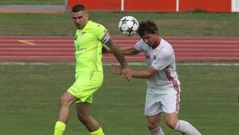 Im Spiel gegen Zug konnte sich der FC Solothurn durchsetzen. Trotzdem müssen die Solothurner noch weiter an ihrer Leistung arbeiten.