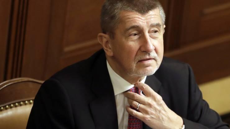 Tritt ab: Der tschechische Premierminister Andrej Babis und seine Regierung. (Archiv)