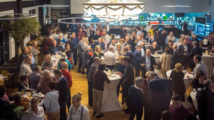Lenzburg feierte vergangenen November seinen 10'000. Einwohner. Im ganzen Kanton ist die Bevölkerung um fast 8000 Menschen gewachsen.