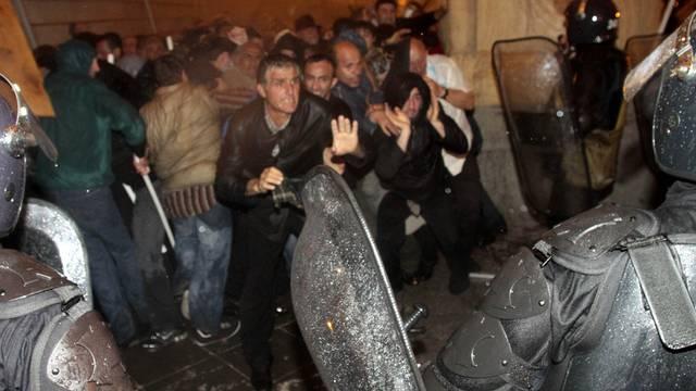 Sicherheitskräfte gehen gegen Saakaschwili-Gegner vor