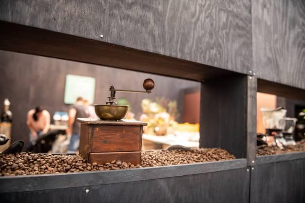 Eine herzige Kaffee-Mühle