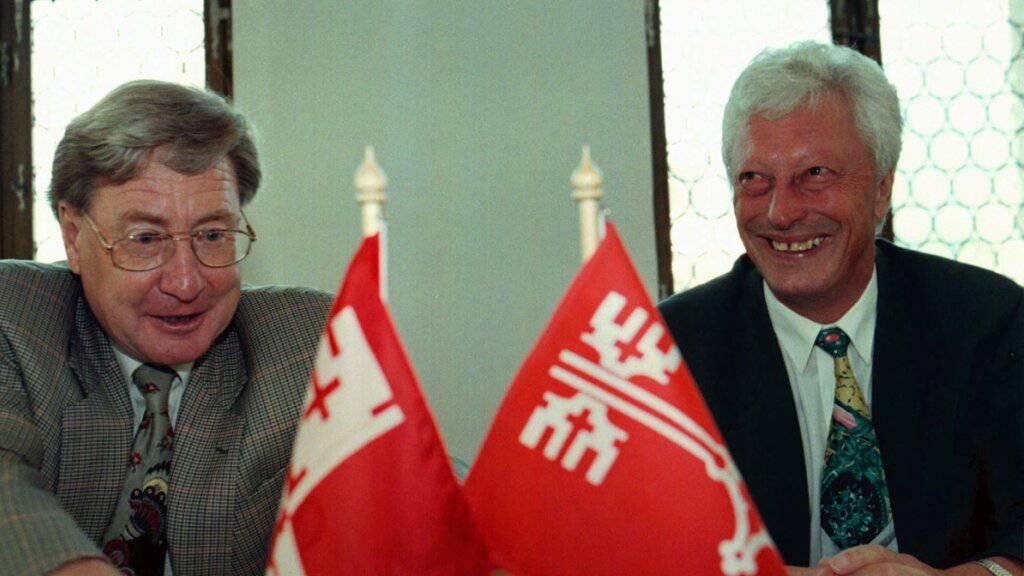 Nidwaldner alt Regierungsrat Werner Keller verstorben