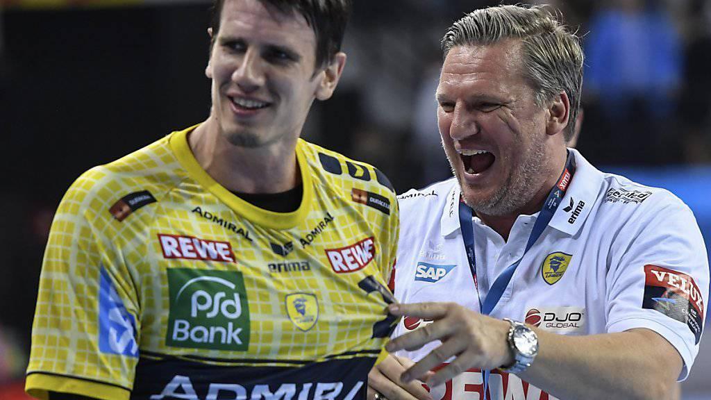 Andy Schmid wird seine Karriere im Dress der Rhein-Neckar Löwen beenden
