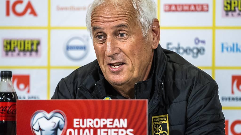 Challandes nicht mehr Trainer des Kosovo