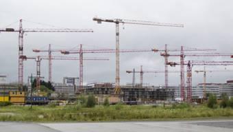 Der Wachstum ist in den letzten Jahren stark gewachsen - entsprechend gross war die Bautätigkeit. (Symbolbild)