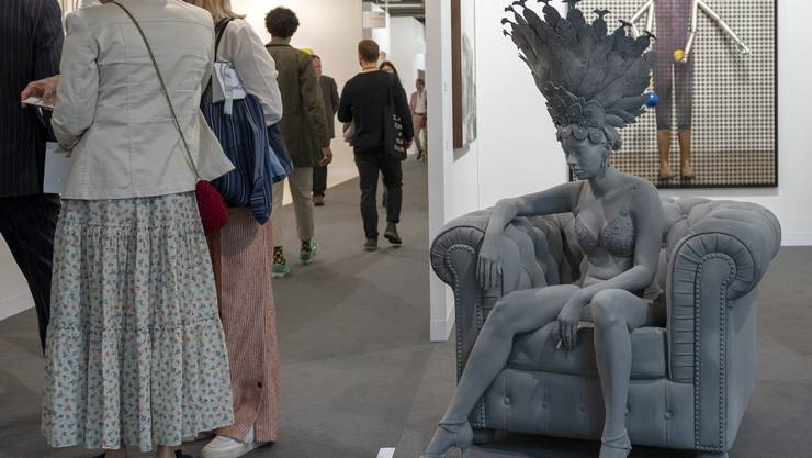 «Dancer» heisst dieses Werk des belgischen Künstlers Hans de Beeck an der Art Basel.