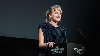 Seraina Rohrer an den 54. Solothurner Filmtagen