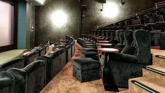 Kinos vor der Wiedereröffnung nach dem Corona Lockdown