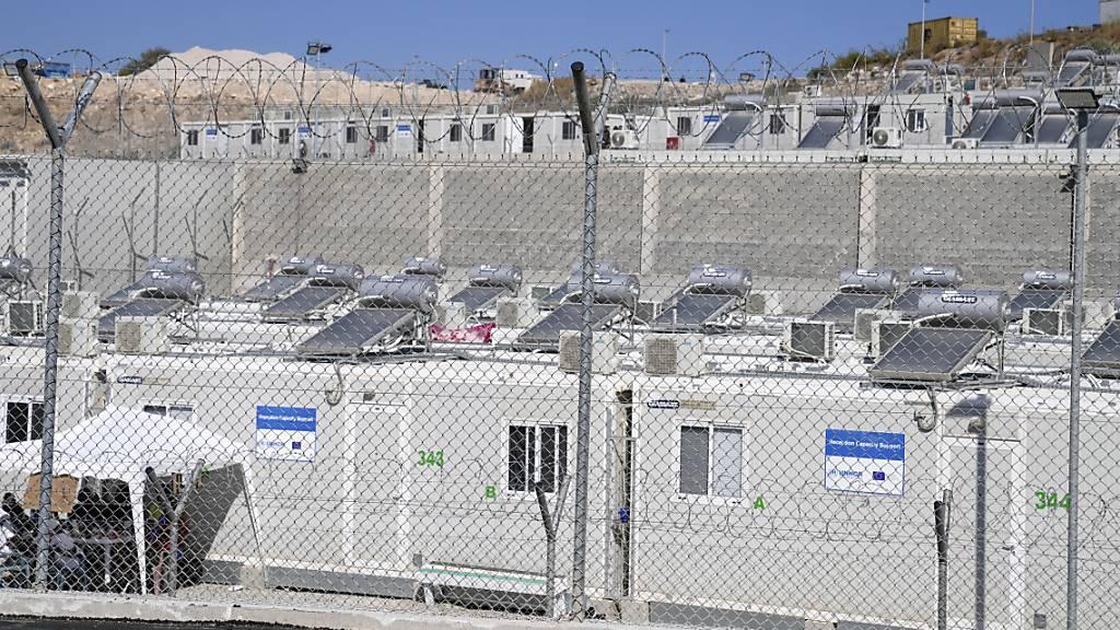Immer weniger Migranten in Auffanglagern auf Ägäis-Inseln
