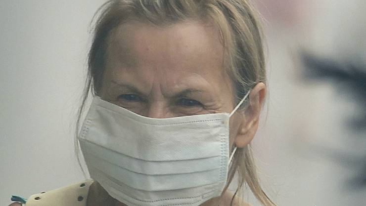 Smog Russland Waldbrände