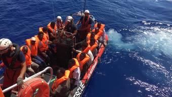 Nicht nur Kriege und Perspektivlosigkeit haben Einfluss auf die Migration, sondern auch Klimaveränderungen (Archivbild vom Mittelmeer vor der libyschen Küste).