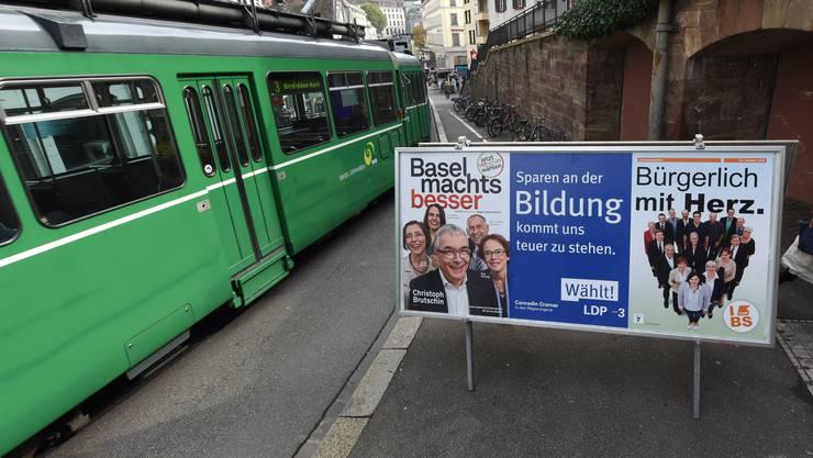 Elf wollen rein, sieben Sitze hats: Bei den Basler Regierungswahlen im Oktober ist das Gerangel grösser als 2016.
