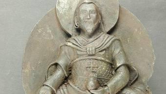 Die von den Nazis entdeckte Buddha-Figur ist aus Metall von einem Meteoriten gefertigt (Bild: Universität Stuttgart)