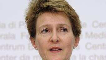 Bundesrätin Simonetta Sommaruga. (Archiv)