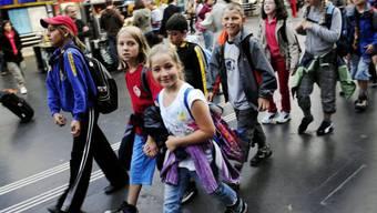 Am Donnerstag ist wieder Schulreisetag (Archiv)