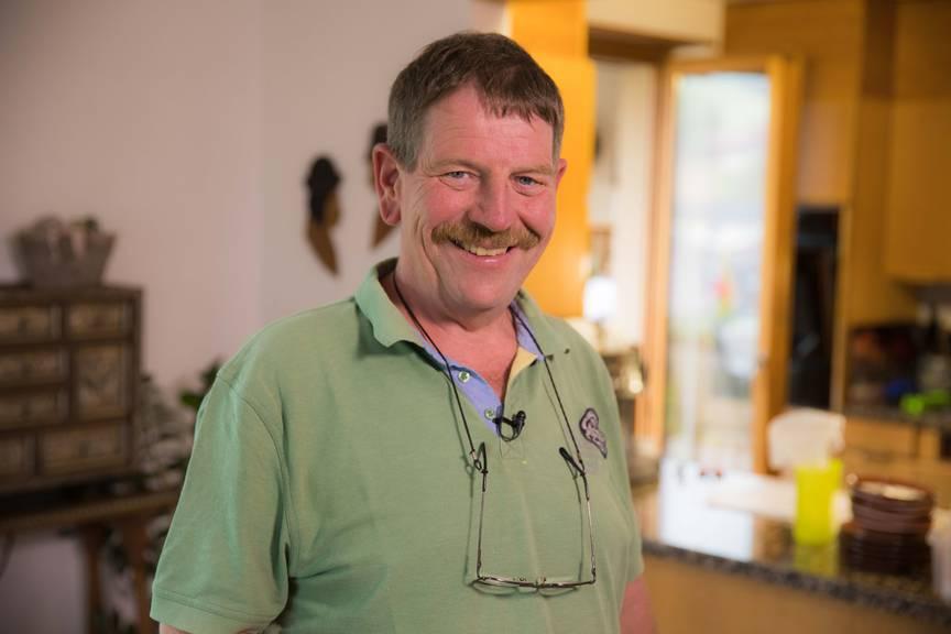 Der 54-jährige Walter wohnt in Ursenbach im Kanton Bern.