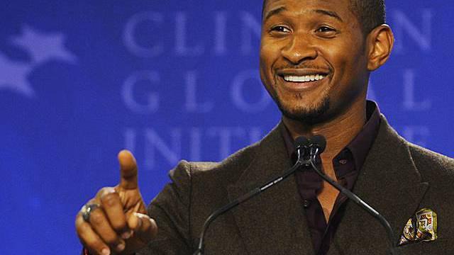 Engagiert sich vielseitig: Sänger Usher (Archiv)